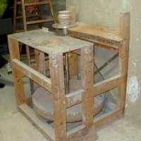 Construire un tour pied par alain duroudier smart - Fabriquer un tour de potier ...