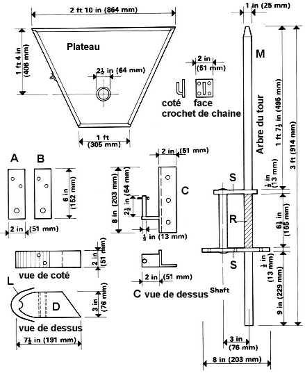 Construire un tour pied smart conseil toute la c ramique - Tour de potier manuel ...