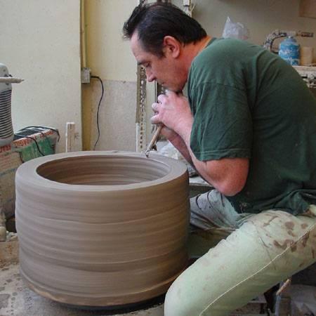 Tournage d 39 un pot de 50 kg sans peine par thierry fouquet for Interieur smart 2000